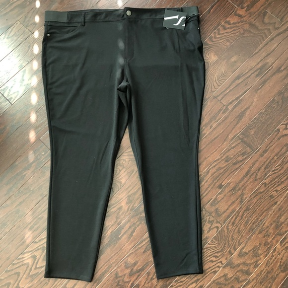 6b71f3e7011 Plus Size SIMPLY VERA WANG Ponte Skinny Pants